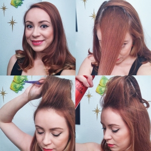 Hair Tutorial with scarf 1