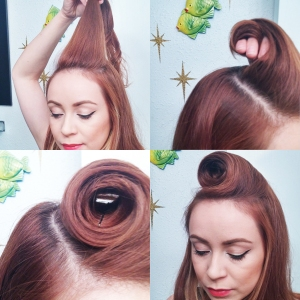 Hair Tutorial with scarf 2